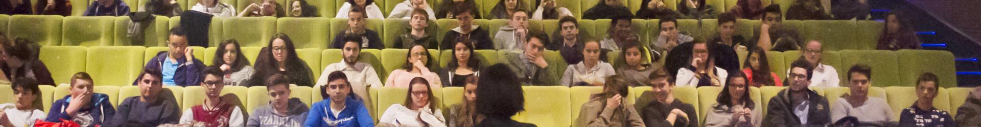 Alice Filippi incontra i ragazzi di CineLab al CuneoFilmFestival